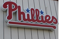 Phillies Logo Carpenter complex