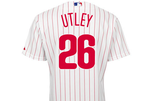 pretty nice 9f8db da933 The legend that is Chase Utley