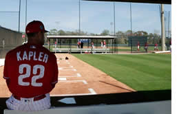 Gabe Kapler Phillies Spring Training